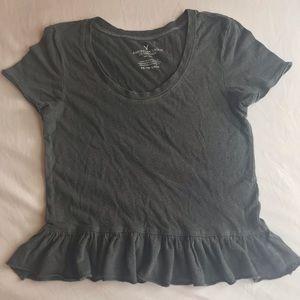 American Eagle Peplum T-shirt